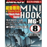 Крючок Decoy Mini Hook MG-1 6, 10шт