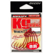 Decoy Worm17R Kg Hook R #1 (7 шт/уп)