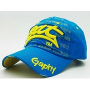 Кепка Bat Gaphy - col.blue-yellow