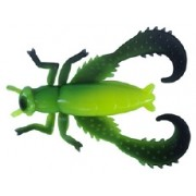 Big Bite Baits Bug Series Cricket Black/Opaque Chart