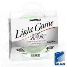 Шнур Team Salmo LIGHT GAME FINE GREEN X4 100m 0.064mm 2.65kg