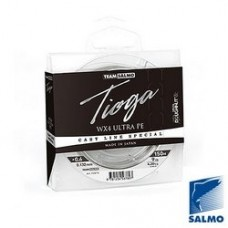 Шнур Team Salmo TIOGA SILVER GREY 150m 0.191mm 6.8kg