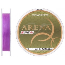 Favorite Arena PE 150м (purple) #0.4/0.104mm 8lb/3.5kg