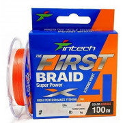 Intech First Braid X4 100m 0.6 (10lb/4.54kg)