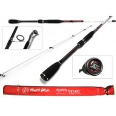 "Crazy Fish Aspen Stake AS602ULT (1-6g 183cm 6'0""92.3g)"