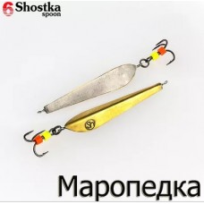 Shostka Spoon Маропедка 40 мм / 3.5 гр gold